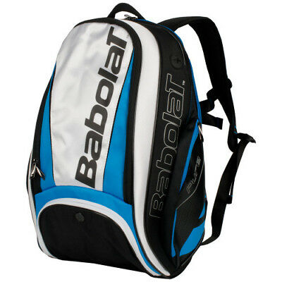 New Babolat Pure Blue/White Backpack Tennis Bag