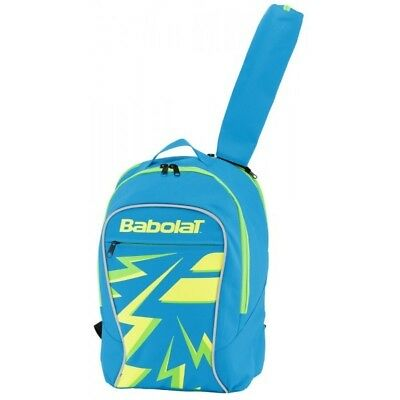 New Babolat Club Junior Blue/Yellow Backpack Tennis Bag