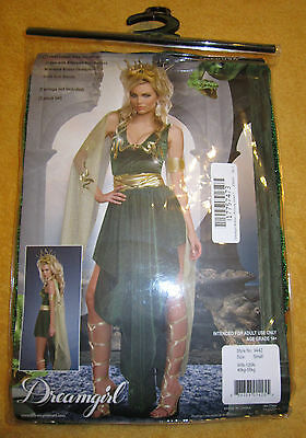 New Dreamgirl Women's Medusa Costume,Green,Size Small,3 Piece Set,Style #9442