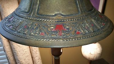Antique Rembrandt Torchiere Lamp w/ Original Metal Shade VERY RARE