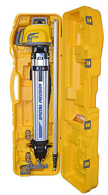 Spectra Precision LL300S-3 Slope Match Laser Level Kit with 15' Rod & HL450