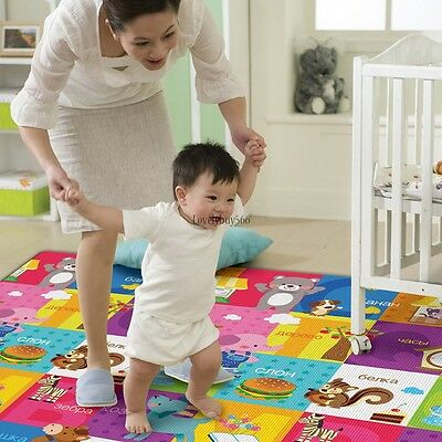Waterproof Baby Foam Floor Activity Play Gyms Game Crawl Carpet Picnic Mat