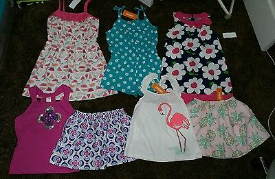 NWT Girls Size 8 Lot of Summer Gymboree Clothes and Outfits watermellon