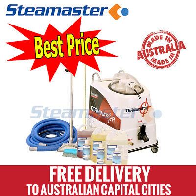 Polivac Terminator Carpet Extraction Steam Cleaning Machine Cleaner Wand