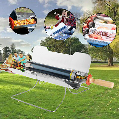 Outdoor Camping Barbecue Foldable Solar Cooker Oven Smokeless Cooking BBQ GRILL