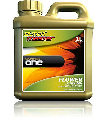 Dutch Master Dm Gold One Flower 5 Litres Hydroponic Nutrient For All Media