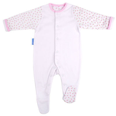 Gro Suit Baby/Newborn Sleepsuit/Romper Warm Quilted Sleeves 0-3m/Size 000 Hetty