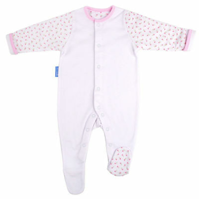 Gro Suit Baby/Newborn Sleepsuit/Romper Warm Quilted Sleeves 9-12m/Size 1 Hetty