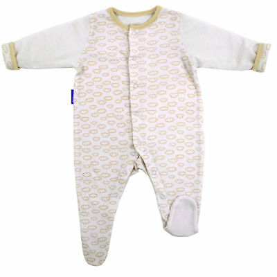 Gro Suit Baby Sleepsuit/Romper Warm Quilted Sleeves 9-12m/Size 1 Fluffy Clouds