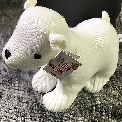 Brand New Plush Polar Bear white soft cute HUGFUN Toy Kids Boy Girl 12in Stuffed