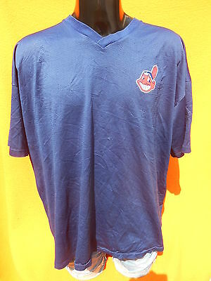 CLEVELAND INDIANS Jersey Maillot Camiseta Made in USA Vintage Majestic Baseball