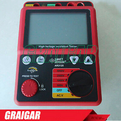 AR3125 High Quality Voltage Insulation Testers