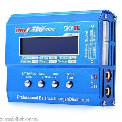 SKYRC iMAX B6 Mini Balance Charger / Discharger for RC Aeromodelling Battery.