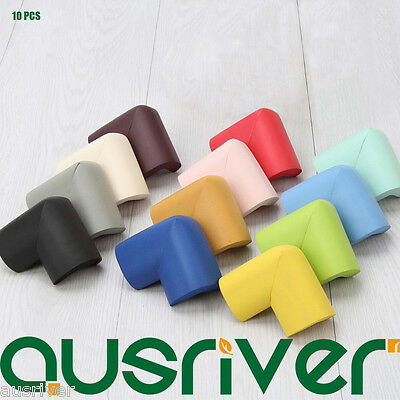 10PCS Rubber Soft Child Baby Safety Cushion Protector Protection of Table Corner