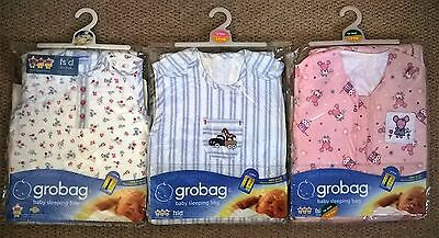 Grobag Baby Sleeping Bag 0-6 Month, 6-18 Month, 18-36 Month 1.0 Tog  New In Pack