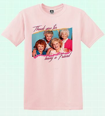 Golden Friends T-shirt Girls Petrillo Shady Tee Pines LGBT Pride Blanche Gay Top