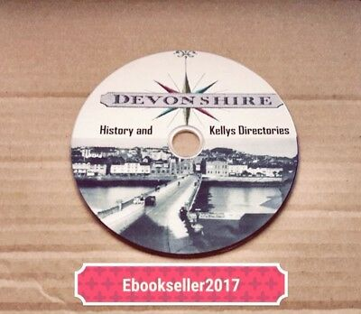 Devonshire History 60 very old books on 1 disc in PDF Format for PC