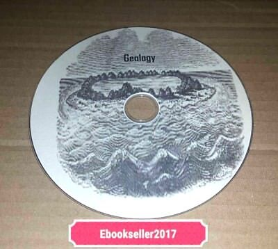 ebooks, UK Geology Vintage 60 + on disc in PDF for PC and Kindle Format/Laptop