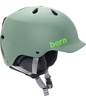 NEW Snow gear Bern Watts Helmet leaf Green S/M  54-57cm