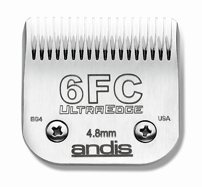Andis UltraEdge Blade Size 6FC Leaves 4.8mm Fits AGC/AGR+ & Oster