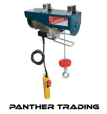 Silverstorm Silverline Mains Powered Electric Hoist With Remote Control - 442463