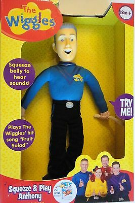 The Wiggles ANTHONY Squeeze & Play Talking Singing 14-Inch Plush Doll