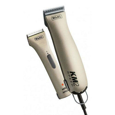Wahl KM2 Two Speed Clipper & Mini Arco Trimmer Kit