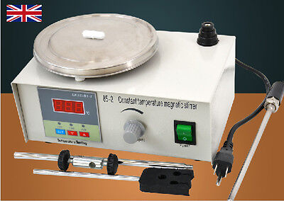 Laboratory Lab Magnetic Stirrer with Heating Plate 85-2 Hotplate Mixer 220V