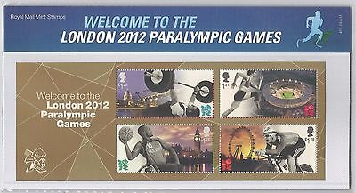 2012 Welcome to the London 2012 Paralympic Games Presentation Pack 475