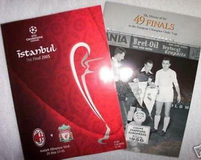 * 2005 CHAMPIONS LEAGUE FINAL- LIVERPOOL v AC MILAN *