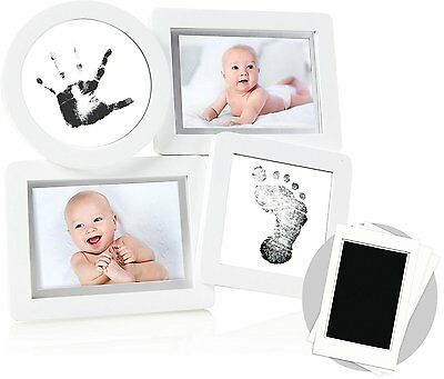 Pearhead Babyprints Collage Frame White