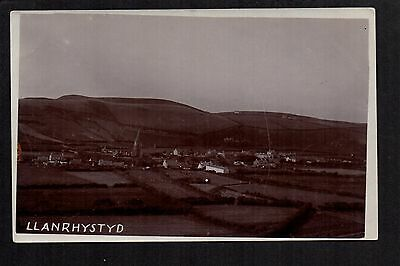 Llanrhystyd - real photographic postcard