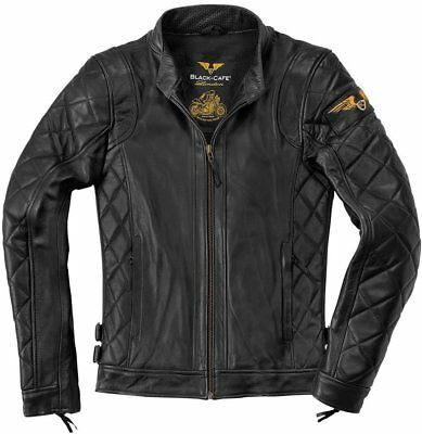 Black-Cafe London Gorgan Lederjacke