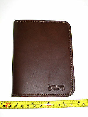 Saddleback Leather Retired PASSPORT SLEEVE in Dark Coffee Brown DCB Made in USA