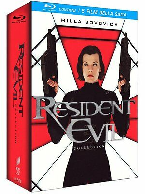 The Resident Evil Collection (5 Blu-Ray Disc) - ITALIANO ORIGINALE SIGILLATO -