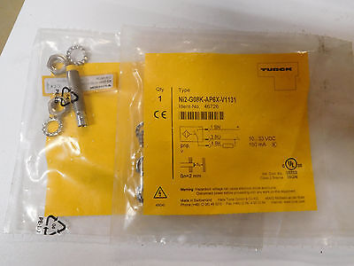 Lot of 2 new TURCK Ni2-G08K-AP6X-V1131 proximity sensors factory sealed bags
