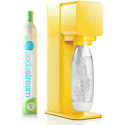 Soda Stream Play Yellow Home Soft Fizzy Bubble Sparkling Drinks Maker SodaStream