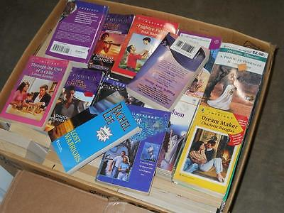 Lot of 100 Harlequin ~ Silhouette and Other Romance Books ~ Novels