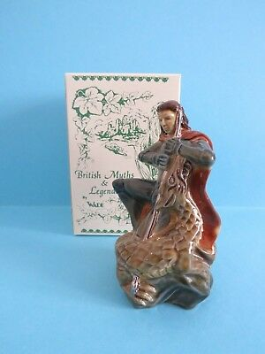WADE ST. GEORGE WITH DRAGON BRITISH MYTHS & LEGEND, COME WITH BOX *Mint*