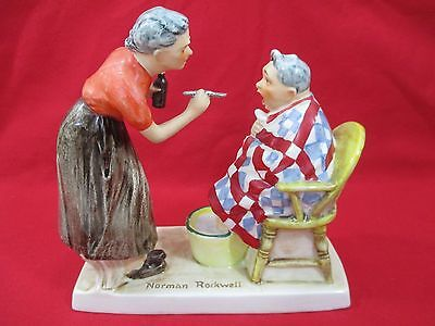 """Norman Rockwell's """"The Patient""""  Figurine by Goebel 1962"""