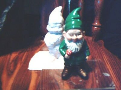 Cute Standing Gnome Mold Latex/Rubber concrete/plaster