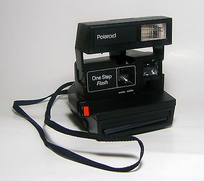 Polaroid One Step Camera with Flash 600 Film Close Up Instant Vintage