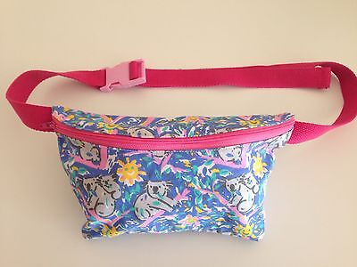 Very Cool Handmade Festive/Fanny/Bumbag In Ken Done Style Print