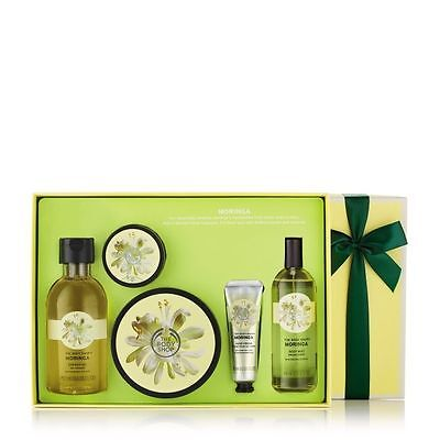 New Vegetarian The Body Shop Gifts Moringa Premium Collection
