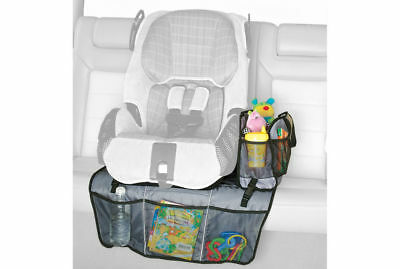Baby Mat Seat Protector/toy/book/bottle organiser/Tote hand bag for car/leather
