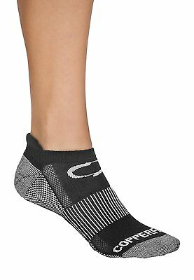 Copper Fit Sport Socks 3 Pair Medium/Large Size 9-12 Mens 10-13 Womens