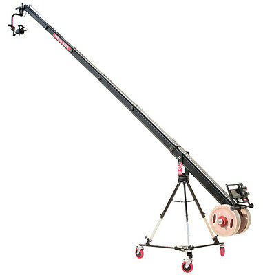 Proaim 22ft Octagonal Camera Crane with 150mm Bowl Jib Stand & D-33 Pro dolly