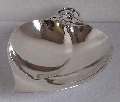 Beautiful Vintage Tiffany & Co. Sterling Heart-Shaped Bowl #22885 (1947-1956)