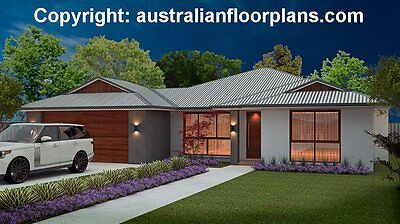 4 Bedroom - 2 Bathroom - Family Home Plans - New Contruction House Plans - Cheap