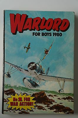 Warlord Book for Boys - 1980 - Excellent Condition - 37 Years Old